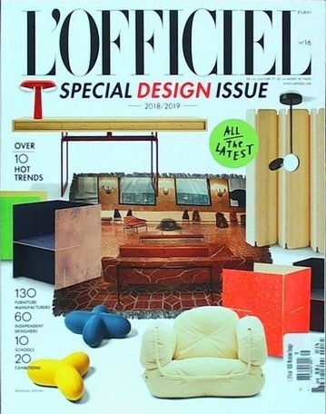 L'Officiel 1000 models Design Magazine