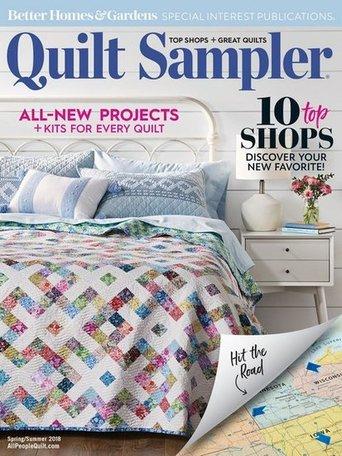 Quilt Sampler (Better Homes & Gardens presents) Magazine
