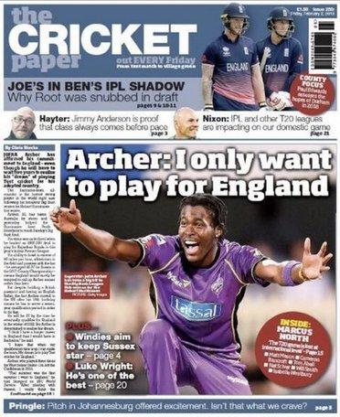 The Cricket Paper Magazine