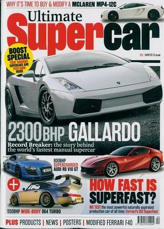 Ultimate Supercar Magazine